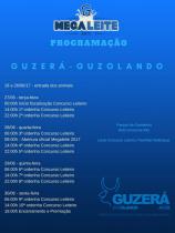 Megaleite 2017 – Programação Guzerá e Guzolando